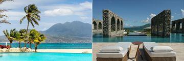 Park Hyatt St. Kitts, Lagoon Pool and Rampart Pool