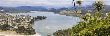 Pauanui view from Mount Puka, Coromandel Peninsula