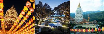 Penang Temples & Shangri-La's Rasa Sayang Pool