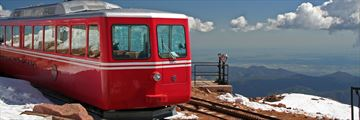 Pikes Peak Railway in Colorado