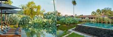 The Slate Phuket's gorgeous pools