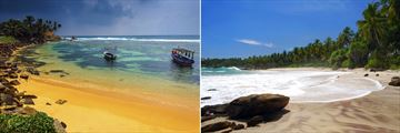 Pristine Sri Lankan beaches