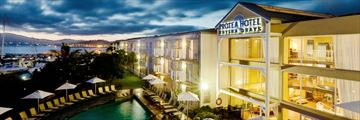 Protea Hotel Knysna Quays, Overlooking the Pool and Harbour