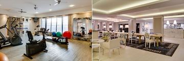 Protea Hotel Sea Point, Fitness Room and Lobby and Communal Table