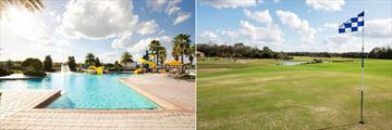 Providence Resort Homes, Main Pool and Golf Course