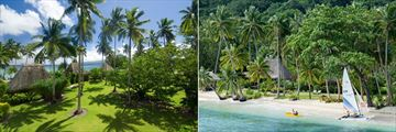 Qamea Resort & Spa Fiji, Resort Grounds and Watersports