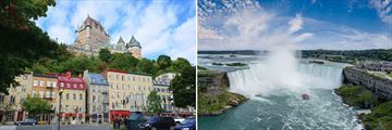 Quebec City & Niagara Falls, Eastern Canada