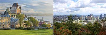 Quebec City & Montreal, Canada