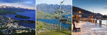 Scenery and Activities in Queenstown