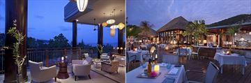 Raffles Seychelles, Danzil Bar and Curieuse Restaurant