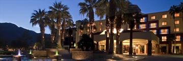 Renaissance Palm Springs, Exterior at Night
