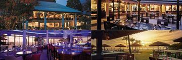 Dining at Shangri La's Rasa Ria Resort