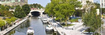 Rideau Canal, Parliament Hill