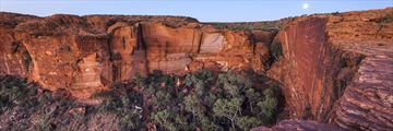 The rim walk at Kings Canyon