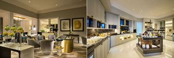 The Ritz-Carlton, Doha, Club Lounge and The Kitchen