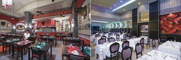 Riu Palace Las Americas, Fiesta Mexican - Mexican Restaurant and Main Restaurant