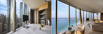 Junior Suite and Two Bedroom Premium Suite at Rixos Premium Dubai JBR