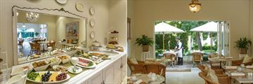The Breakfast Room and Buffet at Rosenhof Country House