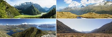 Routeburn Track, Lake Wanaka & Haast Pass