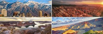 Salt Lake City, Bryce Canyon, Lake Powell & The Grand Canyon