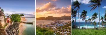 San Juan, Phillipsburg & St Kitts Beach