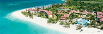 Sandals South Coast, Aerial View of Resort