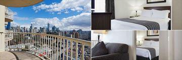 Sandman Suites Vancouver - Davie Street, Queen Suite with Sofa Bed City View