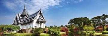 Sanphet Prasat Palace Bangkok View