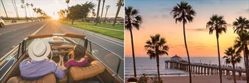 Santa Barbara and Manhattan Beach, Los Angeles
