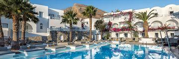 Main pool at Santorini Kastelli Resort
