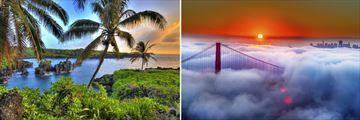Scenery in Hawaii & San Francisco