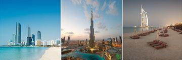 Dubai's cityscape & beachfront