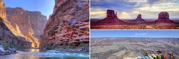 Grand Canyon & Monument Valley vistas