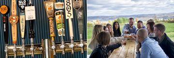 Craft Beers and Brewery Tasting