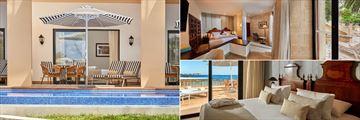 Swim-Up Suite, Master Suite and Junior Suite at Secrets Mallorca Villamil Resort