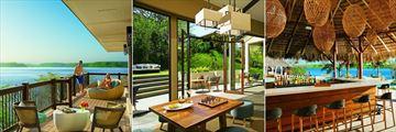 Honeymoon Suite Terrace, Preferred Club Lounge and Manatees Bar at Secrets Papagayo