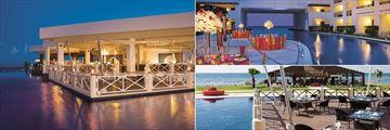 Dining at Secrets Silversands Riviera Cancun