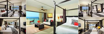 Secrets Wild Orchid Montego Bay, Junior Suite Ocean View King, Junior Suite, Junior Suite Ocean View Doubles, Junior Suite Ocean View Swim-Out Doubles and Junior Suite Ocean View Swim-Out King