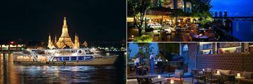 Shangri-La, Bangkok, Horizon Cruise, NEXT2 Cafe Terrace and Volti Restorante & Bar Lounge