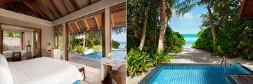Beach Villas at Shangri-La Villingili Resort