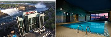 Sheraton on the Falls Hotel, Exterior and Pool