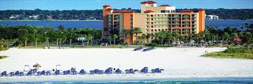 Sheraton Sand Key Resort, Exterior