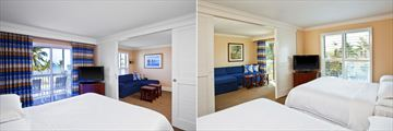 Sheraton Suites Key West, King and Double Guestrooms