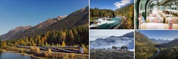 Sights of the Rocky Mountaineer Cloud Route