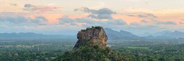 Sigiriya Rock Landscape Sri Lanka