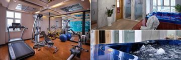 Silk Path Hanoi, Gym and Spa with Jacuzzi
