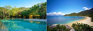 Six Senses Ninh Van Bay, Resort Pool and Beach