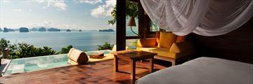Ocean Panorama Pool Villa at Six Senses Yao Noi
