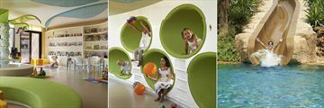 Children's Play Room and Waterslide at Sofitel Dubai The Palm