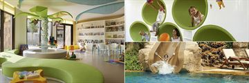 Children's Play Room, Activities and Pool With Waterslide at Sofitel, The Palm, Apartments